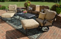 amalia 7-piece luxury cast aluminum
