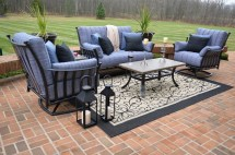 amia 5-piece luxury cast aluminum