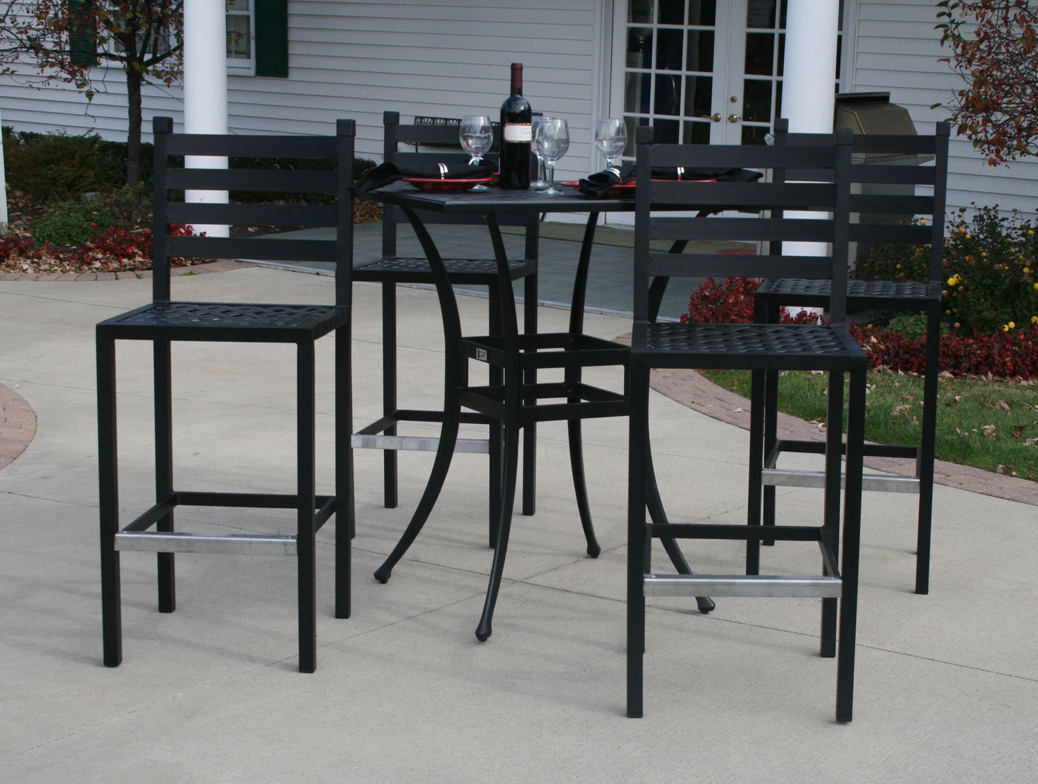 Ansley Luxury 4Person All Welded Cast Aluminum Patio