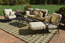 serena 6-piece luxury cast aluminum