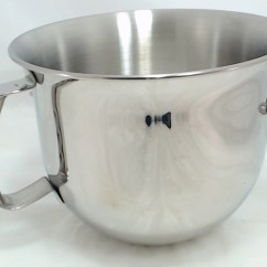 Kitchen Aid Bowls Weight Scale W10177650 Kitchenaid Stand Mixer Stainless Steel Bowl 6 Qt Ap5589646 Ps3507721
