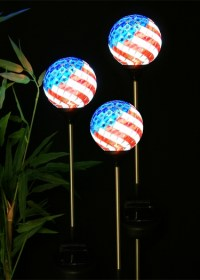 Solar Americana Mosaic Globes (Set of 3) only $59.99 at ...