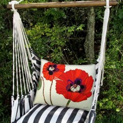 Love Swing Chair Covers Pottery Barn True Black Poppy Hammock Set Only 159 99 At Garden Fun Click To Enlarge