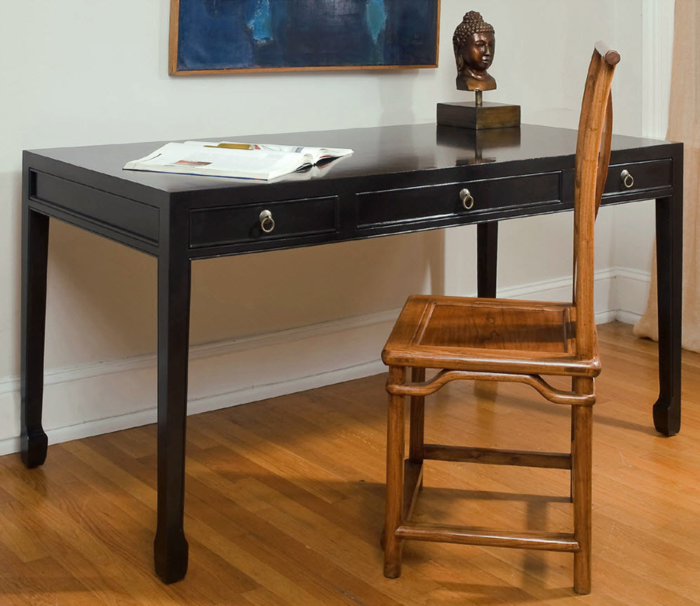 Double Happiness Large Writing Desk for Sale  Cottage