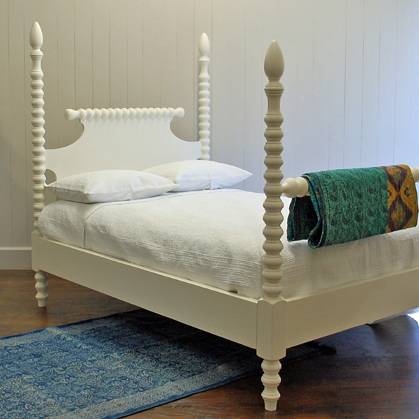 English Farmhouse Spindle Bed for Sale  Cottage  Bungalow