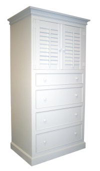 Four Drawer Plantation Cabinet for Sale - Cottage & Bungalow
