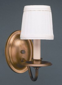 Wall Sconce One Arm with Lampshade for Sale - Cottage ...