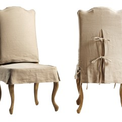 Low Cost Chair Covers Serta Review Dovetail Dining Slipcover Reclaimed Wood