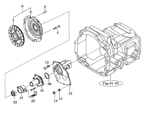 TRANSMISSION PARTS FOR 2810 MAHINDRA TRACTOR