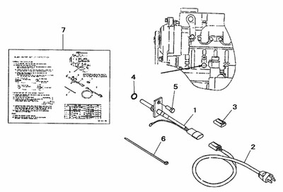 BLOCK HEATER KIT FOR 3016 MAHINDRA TRACTOR