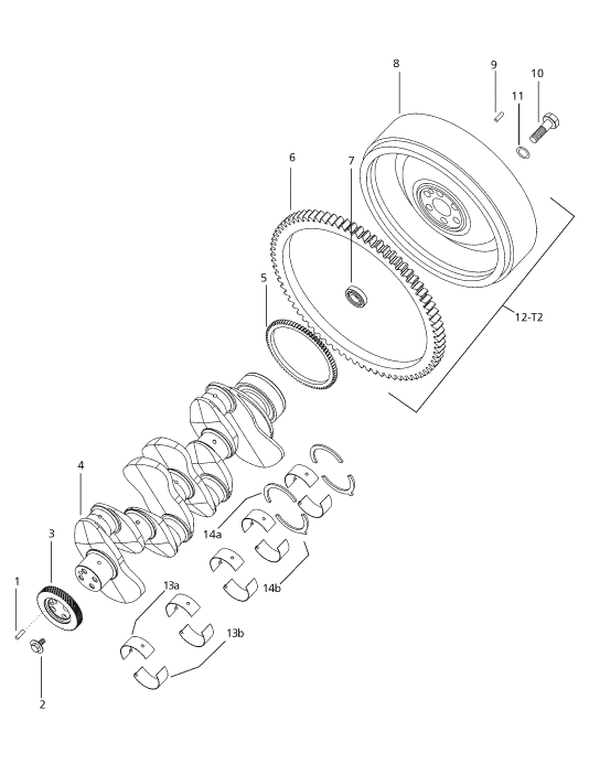 CLUTCH PARTS FOR 2-WHEEL DRIVE 6000 MAHINDRA TRACTOR