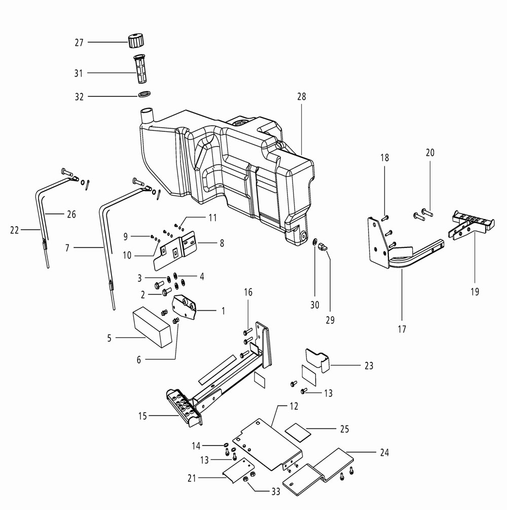 FUEL SYSTEM PARTS FOR 4035 MAHINDRA TRACTOR