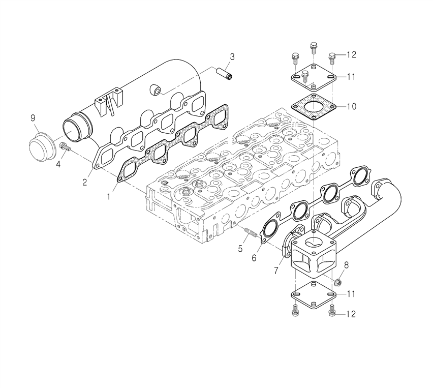 ENGINE PARTS FOR 4510 MAHINDRA TRACTOR