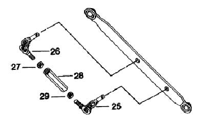 3-POINT LIFT PARTS FOR 575 MAHINDRA TRACTOR