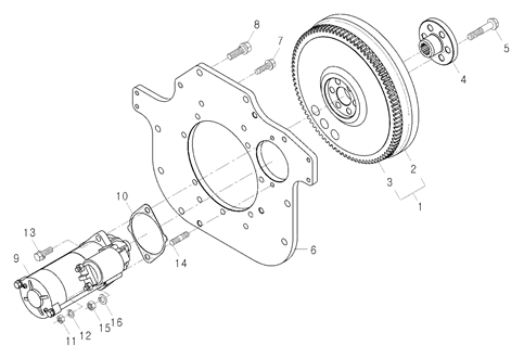 ELECTRICAL PARTS FOR 2810 MAHINDRA TRACTOR