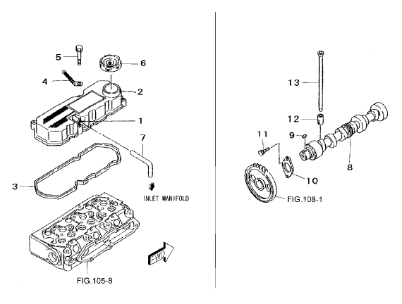 ENGINE PARTS FOR 2615 MAHINDRA TRACTOR