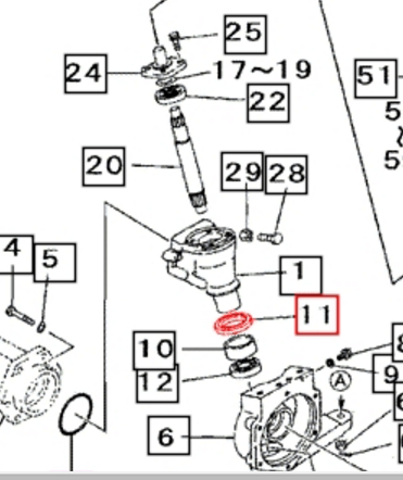 FRONT AXLE & STEERING PARTS FOR 3016 MAHINDRA TRACTOR