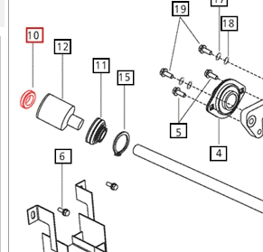 FRONT AXLE & STEERING PARTS FOR 5035 MAHINDRA TRACTOR