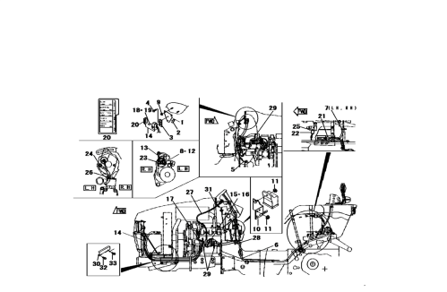 small resolution of electrical system parts for 2816 mahindra tractor kubota tractor radio wiring diagram mahindra 2816 wiring diagram