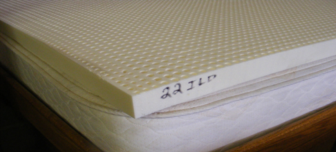 Talalay Dunlop Latex Toppers Bare
