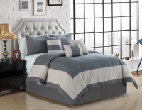 11 Piece Daudi Gray Bed in a Bag Set