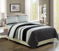 Bradenton Black/Gray Bed in a Bag Set