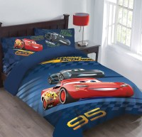Disney Cars Velocity Bedding Comforter Set with Fitted Sheet