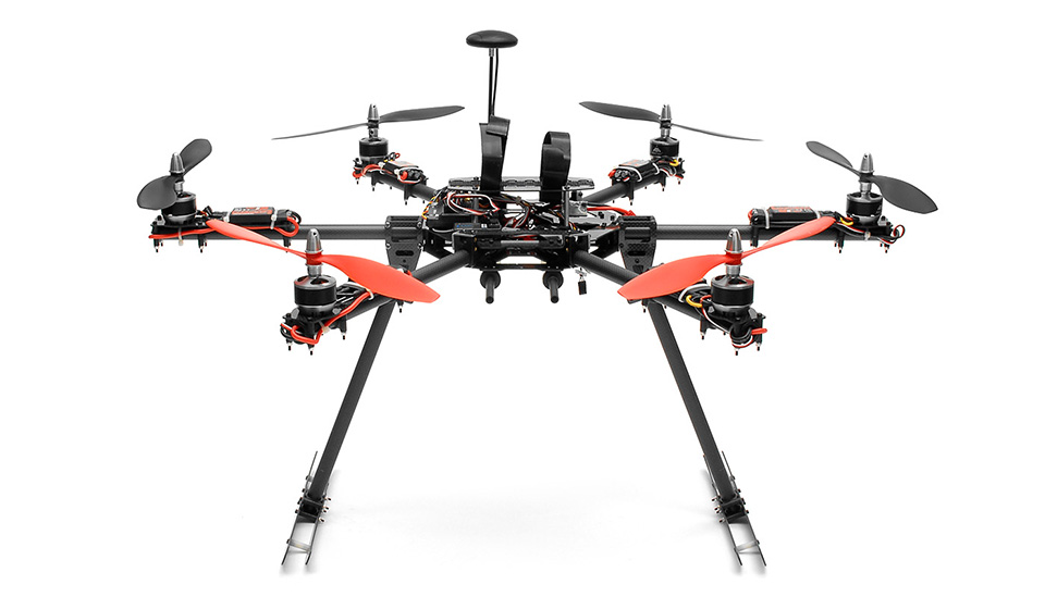 Aerosky C17 Professional UAV Hexacopter 6 Channel Almost