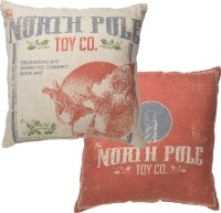 North Pole Pillow - Primitives by Kathy