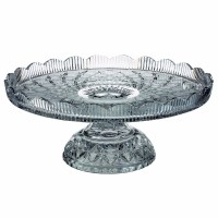 Waterford Lace Footed Cake Plate by Waterford