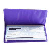 World's thinnest checkbook cover and checkbook holder