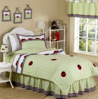 Ladybug Parade Bug Childrens Bedding - 3pc Full / Queen ...