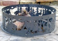 Decorative Northwoods Fire Ring