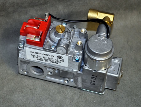 Dexen Natural Gas Safety Pilot Valve with Electronic Ignition