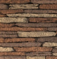 Empire Stacked Limestone Fireplace Insert Liner