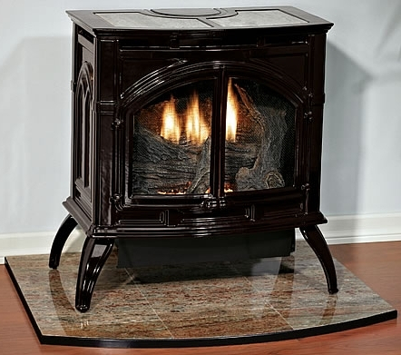 Empire VFP30CA30 Heritage VentFree Cast Iron Gas Stove with Porcelain Finish  Natural Gas