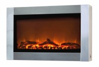 Fire Sense Stainless Steel Wall-Mounted Electric Fireplace ...
