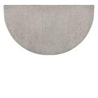 Goods of the Woods Grey Flame Polyester Half Round Hearth ...