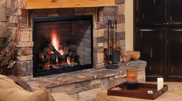 Majestic Fireplaces Gas Fireplaces Majestic Biltmore Radiant Wood Burning Fireplace - 36 Inch