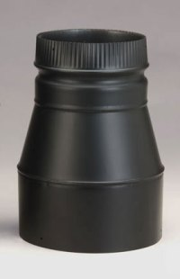 Selkirk DSP Double-Wall Black 8-Inch to 6-Inch Stovepipe ...