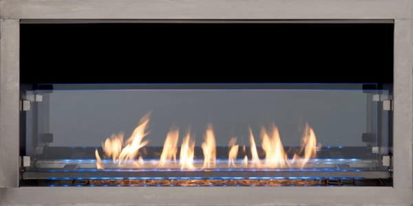 Superior 36 Inch VentFree VRE4636ZEN Outdoor Linear Gas Fireplace