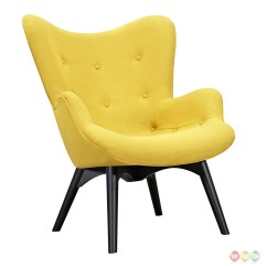 Yellow Wheelchair Amazing Pocket Chair Aiden Mid Century Modern Fabric And Ottoman In
