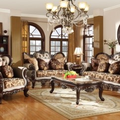 French Provincial Living Rooms Interior Design For Room Images Antique Style Wing Back Sofa Love Seat Loveseat Set