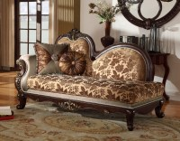 Antique Style Wing Back Sofa & Love Seat French Provincial ...