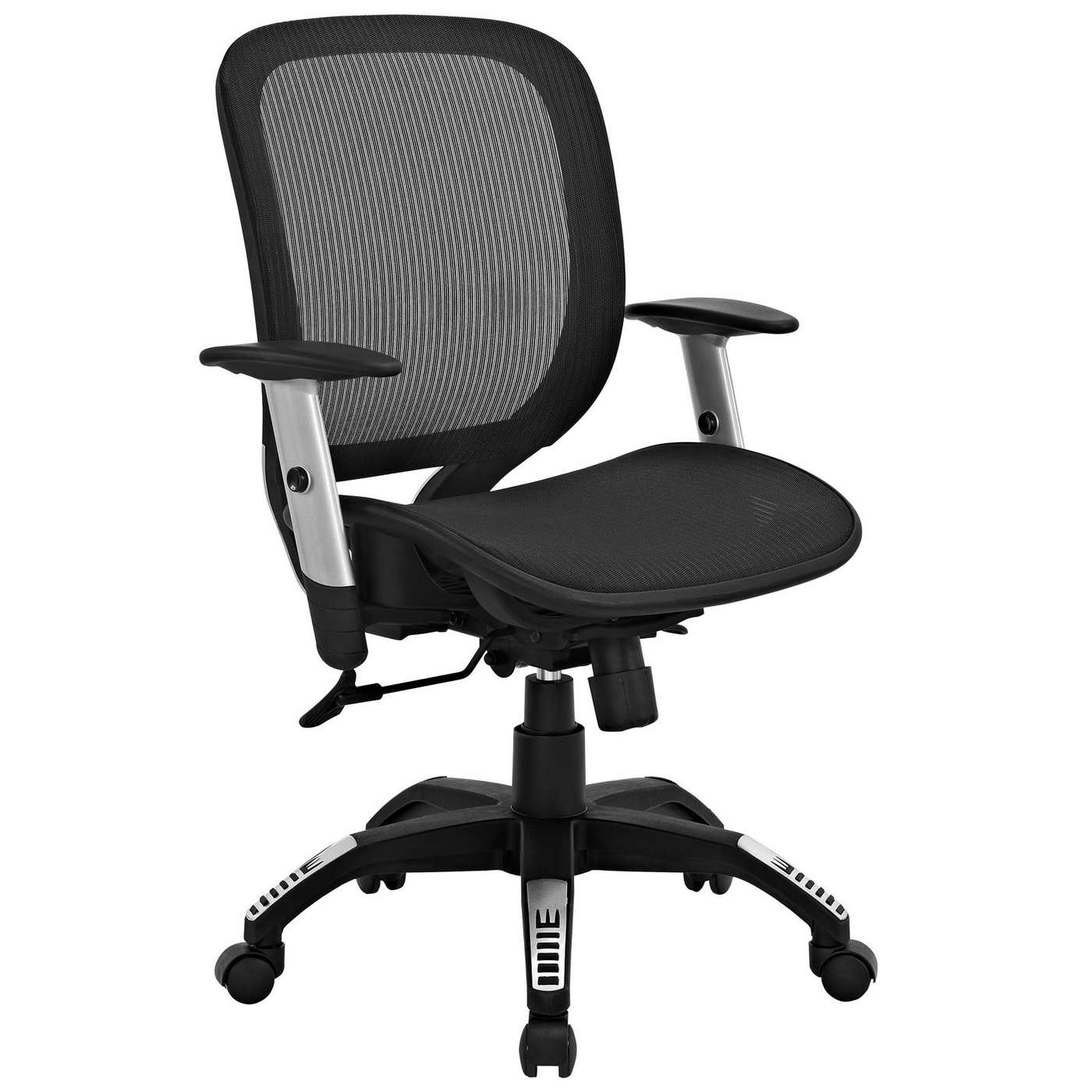 Arillus Contemporary All Mesh Office Chair w Adjustable