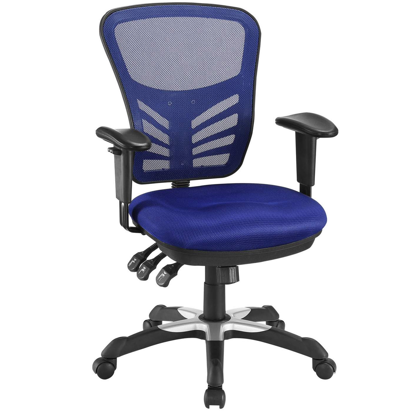 Mesh Ergonomic Office Chair Articulate Modern Adjustable Ergonomic Mesh Office Chair Blue