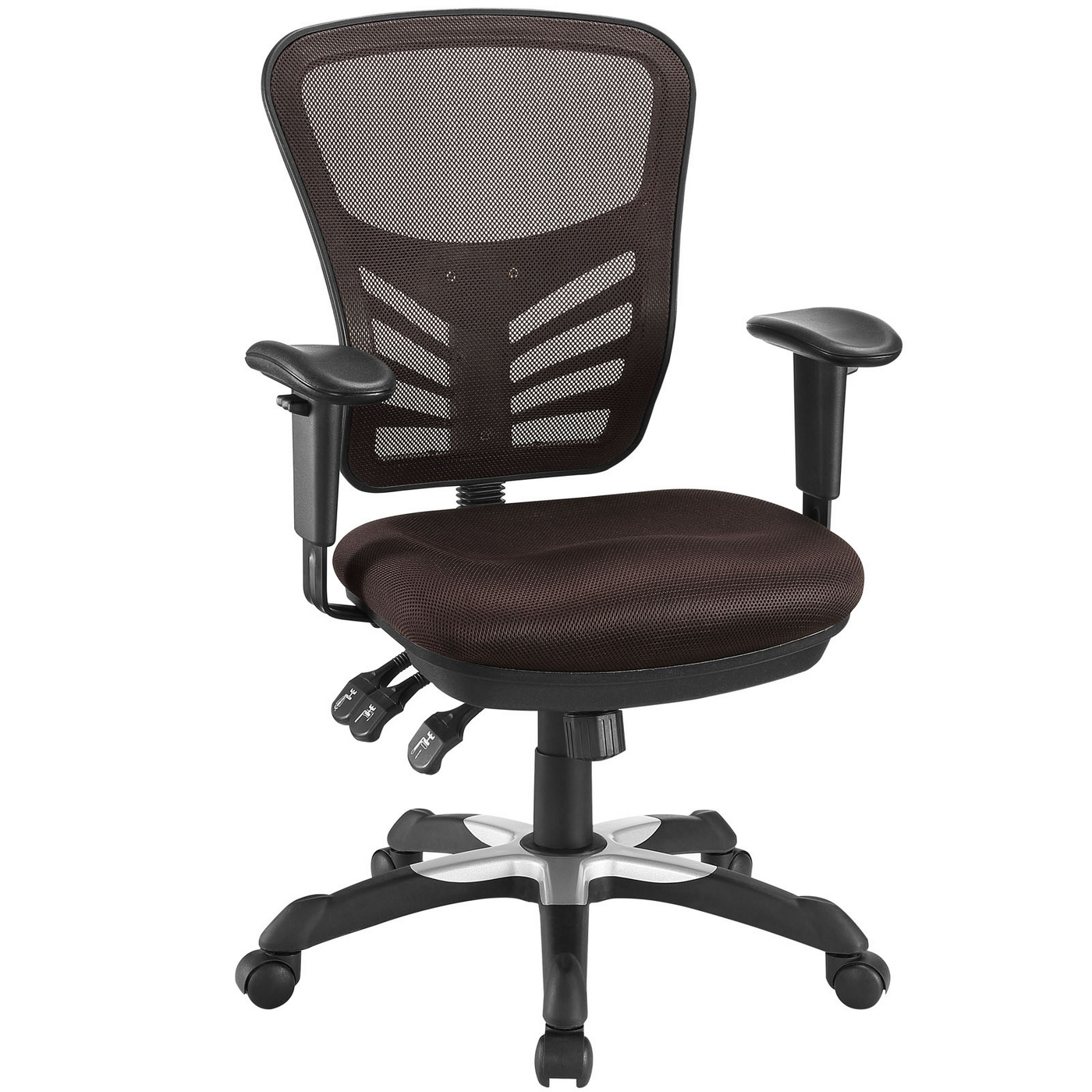 brown office chairs linen dining chair covers australia articulate modern adjustable ergonomic mesh