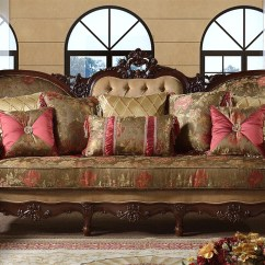 Parker Sofa And Loveseat Home Cinema Seating Uk Azalea Victorian & W/ Beige Pink Floral ...