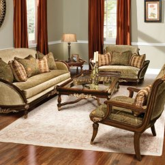 Solid Wood Sofa Set Unusual Leather Sofas Uk Rosetta Traditional Style Furniture
