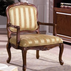 Wood Frame Accent Chairs The Chair Outlet Burnaby Antique Oak With Hand Carved